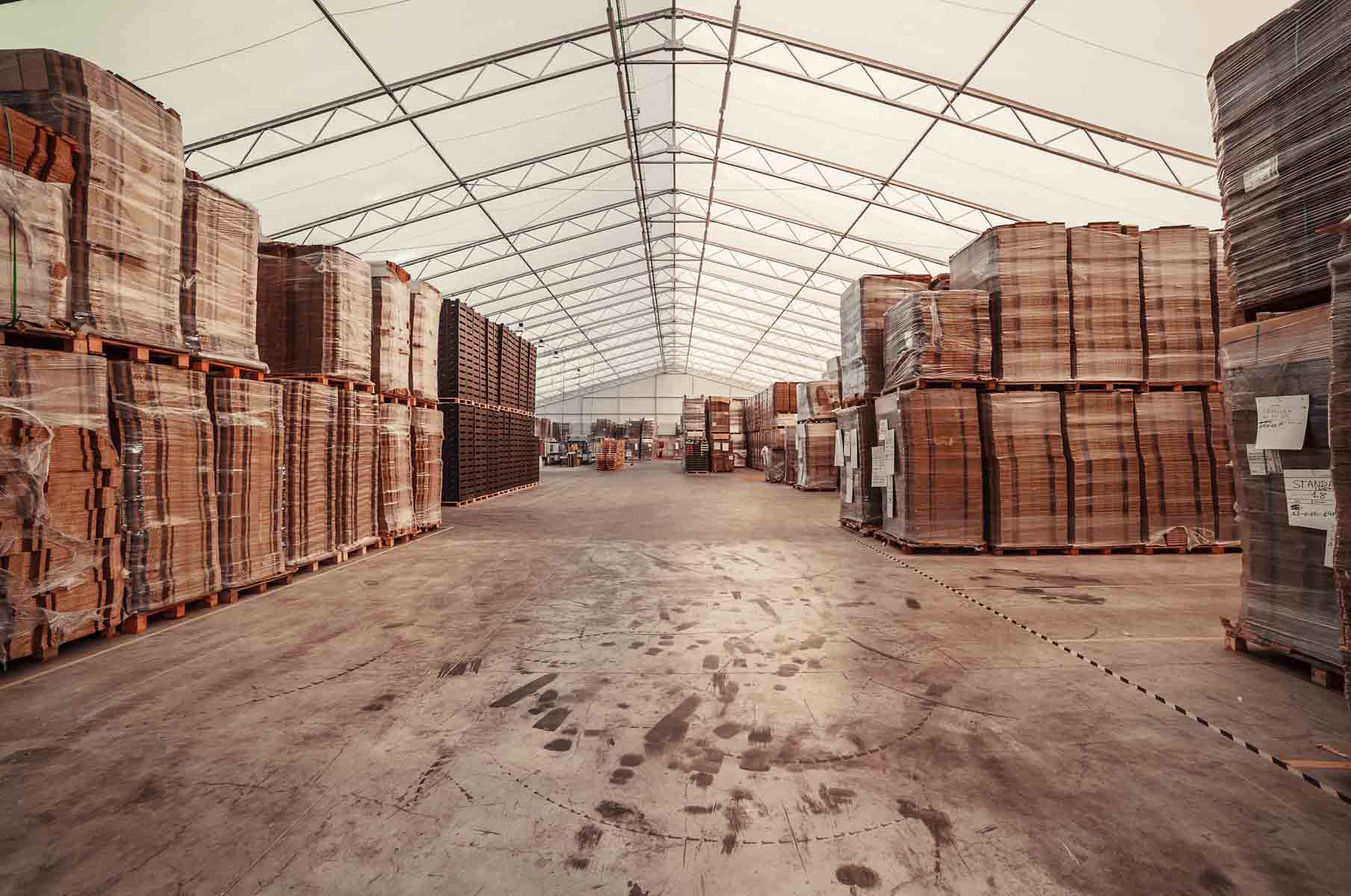 interior carpa pvc industrial